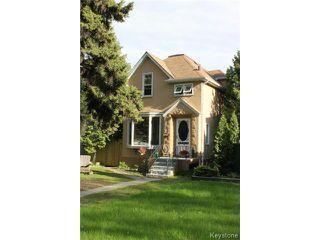 Main Photo: 230 Eugenie Street in WINNIPEG: St Boniface Residential for sale (South East Winnipeg)  : MLS®# 1412128