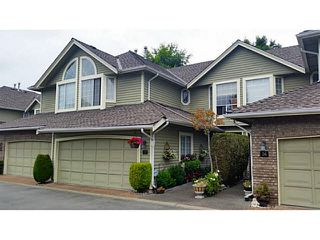 "Photo 1: 37 11100 RAILWAY Avenue in Richmond: Westwind Townhouse for sale in ""WESTWIND TERRACE"" : MLS®# V1138546"