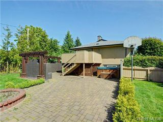Photo 17: 3340 Woodburn Avenue in VICTORIA: OB Henderson Single Family Detached for sale (Oak Bay)  : MLS®# 364361