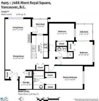 """Photo 18: 405 7088 MONT ROYAL Square in Vancouver: Champlain Heights Condo for sale in """"BRITTANY"""" (Vancouver East)  : MLS®# R2220776"""