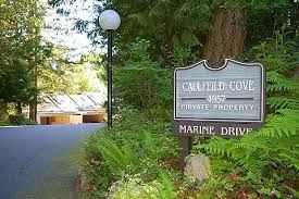 "Photo 1: 9 4957 MARINE Drive in West Vancouver: Olde Caulfeild Townhouse for sale in ""CAULFEILD COVE"" : MLS®# R2249440"
