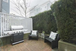 """Photo 18: 103 657 W 7TH Avenue in Vancouver: Fairview VW Townhouse for sale in """"THE IVYS"""" (Vancouver West)  : MLS®# R2348649"""
