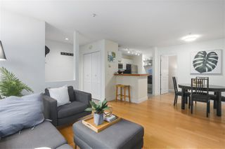 """Photo 2: 103 657 W 7TH Avenue in Vancouver: Fairview VW Townhouse for sale in """"THE IVYS"""" (Vancouver West)  : MLS®# R2348649"""