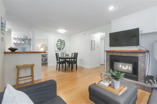 "Main Photo: 103 657 W 7TH Avenue in Vancouver: Fairview VW Townhouse for sale in ""THE IVYS"" (Vancouver West)  : MLS®# R2348649"