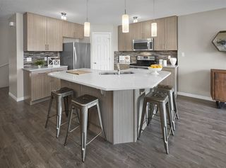 Photo 4: 2117 86 Street in Edmonton: Zone 53 House Half Duplex for sale : MLS®# E4175875
