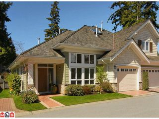 "Photo 1: 46 15055 20TH Avenue in Surrey: Sunnyside Park Surrey Townhouse for sale in ""HIGHGROVE"" (South Surrey White Rock)  : MLS®# F1110522"
