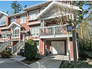 Photo 1: 152 15168 36TH Avenue in Surrey: Morgan Creek Townhouse for sale (South Surrey White Rock)  : MLS®# F1407698