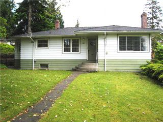 Photo 1: 907 SECOND Street in New Westminster: GlenBrooke North House for sale : MLS®# V1071348