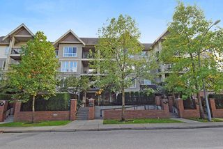 "Photo 1: 210 1576 GRANT Avenue in Port Coquitlam: Glenwood PQ Condo for sale in ""THE BROWSTONE"" : MLS®# R2000830"