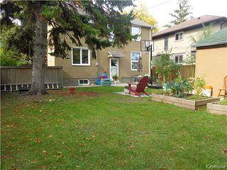 Photo 16: 528 Niagara Street in WINNIPEG: River Heights / Tuxedo / Linden Woods Residential for sale (South Winnipeg)  : MLS®# 1526616