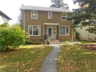 Photo 1: 528 Niagara Street in WINNIPEG: River Heights / Tuxedo / Linden Woods Residential for sale (South Winnipeg)  : MLS®# 1526616