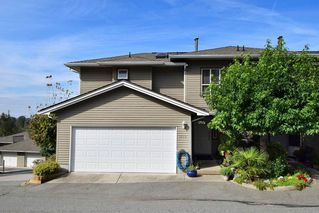 Photo 1: 1115 CLERIHUE Road in Port Coquitlam: Citadel PQ Townhouse for sale : MLS®# R2109979