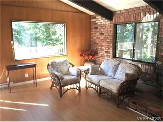 Photo 2: 6011 Bear Hill Road in VICTORIA: SW Elk Lake Single Family Detached for sale (Saanich West)  : MLS®# 370726