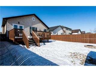 Photo 18: 7 Grassy Lake Drive in Winnipeg: South Pointe Residential for sale (1R)  : MLS®# 1705120