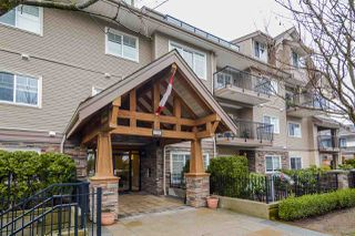 "Photo 1: 110 22150 DEWDNEY TRUNK Road in Maple Ridge: West Central Condo for sale in ""FALCON MANOR"" : MLS®# R2159947"