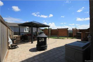Photo 32: 43 Tamarisk Cove in Winnipeg: All Season Estates Residential for sale (3H)  : MLS®# 1715672