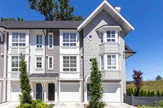 "Photo 1: 77 8476 207A Street in Langley: Willoughby Heights Townhouse for sale in ""YORK By Mosaic"" : MLS®# R2209354"
