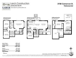 Photo 40: 3738 CARNARVON Street in Vancouver: MacKenzie Heights 1/2 Duplex for sale (Vancouver West)  : MLS®# R2523926
