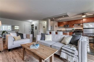 Main Photo: 102 1027 Cameron Avenue SW in Calgary: Lower Mount Royal Apartment for sale : MLS®# A1058522