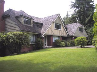 Main Photo: 580 Barnham Place in West Vancouver: British Properties House for sale : MLS®# V533073