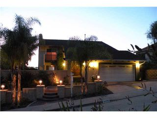 Photo 1: DEL CERRO House for sale : 4 bedrooms : 6176 Calle Empinada in San Diego