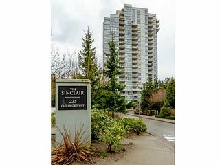 "Photo 1: 1607 235 GUILDFORD Way in Port Moody: North Shore Pt Moody Condo for sale in ""SINCLAIR"" : MLS®# V1092650"