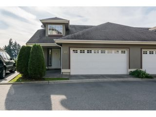 "Photo 1: 41 2068 WINFIELD Drive in Abbotsford: Abbotsford East Townhouse for sale in ""The Summit at Rose Hill"" : MLS®# R2009259"