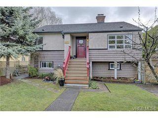 Photo 1: 2857 Shakespeare Street in VICTORIA: Vi Oaklands Single Family Detached for sale (Victoria)  : MLS®# 361887