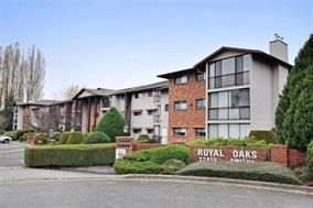 "Photo 1: 314 32910 AMICUS Place in Abbotsford: Central Abbotsford Condo for sale in ""Royal Oaks"" : MLS®# R2122467"