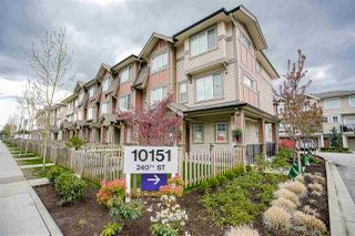 "Photo 1: 114 10151 240 Street in Maple Ridge: Albion Townhouse for sale in ""ALBION STATION"" : MLS®# R2160031"
