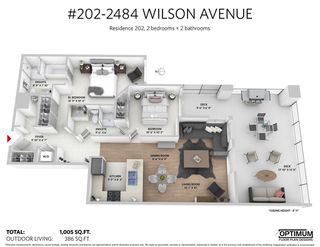Photo 10: 202 2484 WILSON AVENUE in Port Coquitlam: Central Pt Coquitlam Condo for sale : MLS®# R2241018