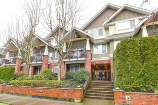 "Main Photo: 208 1567 GRANT Avenue in Port Coquitlam: Glenwood PQ Townhouse for sale in ""THE GRANT"" : MLS®# R2251772"