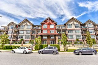 "Photo 1: 210 19939 55A Avenue in Langley: Langley City Condo for sale in ""MADISON CROSSING"" : MLS®# R2265767"