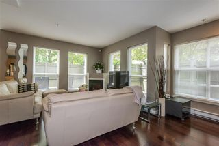 "Photo 2: 103 4155 CENTRAL Boulevard in Burnaby: Metrotown Townhouse for sale in ""PATTERSON PARK"" (Burnaby South)  : MLS®# R2274386"
