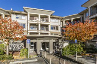 "Main Photo: 322 12248 224 Street in Maple Ridge: East Central Condo for sale in ""URBANO"" : MLS®# R2323872"