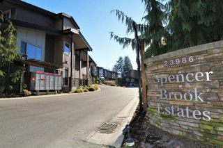 "Main Photo: 38 23986 104 Avenue in Maple Ridge: Albion Townhouse for sale in ""SPENCER BROOK"" : MLS®# R2327483"