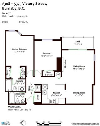 """Photo 19: 308 5375 VICTORY Street in Burnaby: Metrotown Condo for sale in """"The Courtyard"""" (Burnaby South)  : MLS®# R2384552"""