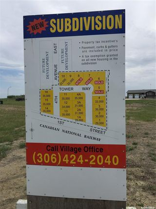 Photo 1: 136 Tower Way in Montmartre: Lot/Land for sale : MLS®# SK824611