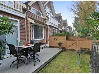 "Photo 20: 15 1506 EAGLE MOUNTAIN Drive in Coquitlam: Westwood Plateau Townhouse for sale in ""RIVER ROCK"" : MLS®# V1099856"