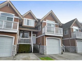 "Photo 1: 15 1506 EAGLE MOUNTAIN Drive in Coquitlam: Westwood Plateau Townhouse for sale in ""RIVER ROCK"" : MLS®# V1099856"