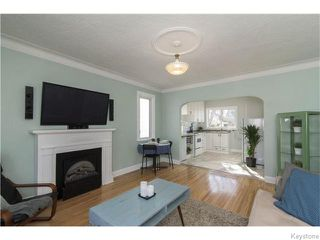 Photo 3: 140 Aubrey Street in Winnipeg: West End / Wolseley Residential for sale (West Winnipeg)  : MLS®# 1608340