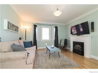 Photo 2: 140 Aubrey Street in Winnipeg: West End / Wolseley Residential for sale (West Winnipeg)  : MLS®# 1608340
