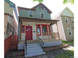 Photo 1: 671 Victor Street in Winnipeg: West End / Wolseley Residential for sale (West Winnipeg)  : MLS®# 1615671