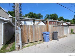 Photo 19: 671 Victor Street in Winnipeg: West End / Wolseley Residential for sale (West Winnipeg)  : MLS®# 1615671