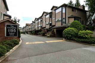 Photo 20: 2 1195 FALCON Drive in Coquitlam: Eagle Ridge CQ Townhouse for sale : MLS®# R2094331
