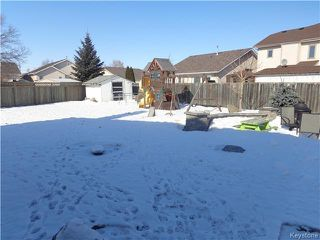 Photo 19: 79 Shalimar Crescent in Winnipeg: Riverbend Residential for sale (4E)  : MLS®# 1703843