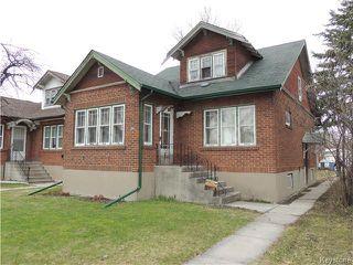 Photo 1: 573 St John's Avenue in Winnipeg: Residential for sale (4C)  : MLS®# 1709835