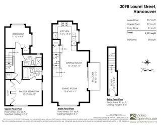 """Photo 3: 3098 LAUREL Street in Vancouver: Fairview VW Townhouse for sale in """"THE LAUREL"""" (Vancouver West)  : MLS®# R2281515"""