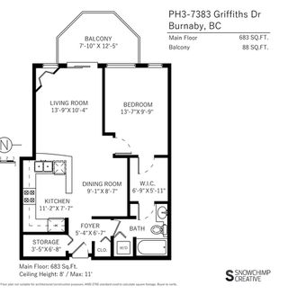 "Photo 16: PH3 7383 GRIFFITHS Drive in Burnaby: Highgate Condo for sale in ""EIGHTEEN TREES"" (Burnaby South)  : MLS®# R2342512"