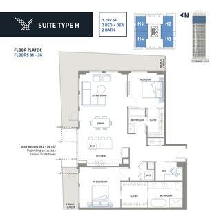 Photo 6: 3404 10019 104 Street in Edmonton: Zone 12 Condo for sale : MLS®# E4156356